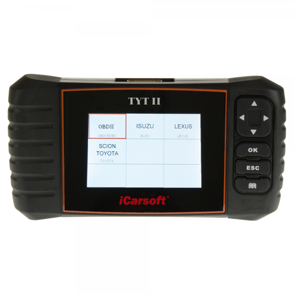 iCarsoft TYT II 2 Diagnosegerät für Toyota, Lexus & Isuzu