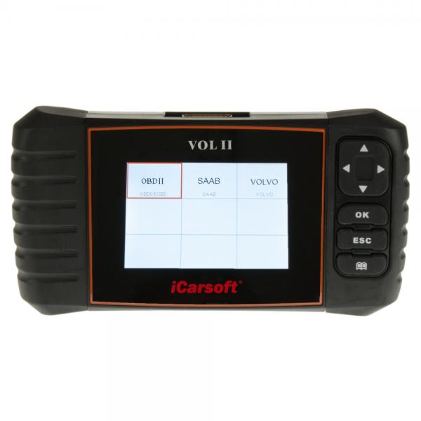 iCarsoft VOL II 2 Diagnosegerät für Volvo & Saab